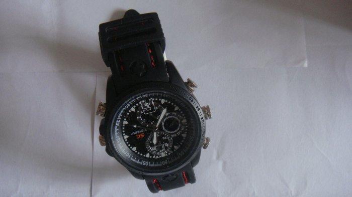 Free shipping 4GB  100% New MDW-205   HD Waterproof  USB spy  Hidden watch camera High resolution