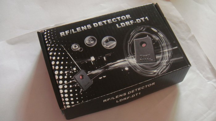 Free shipping 100% New 2-in-1 detector, Spy cameras detector, wireless RF signal detecto