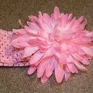 Pink Jumbo Mum on Pink Headband