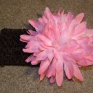 Pink Jumbo Mum on Chocolate Headband