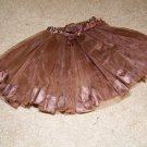 Chocolate Flower Tutu