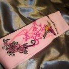 Pink with bird design Leg/Arm Warmers