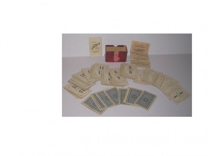 FLINCH CARDS ANTIQUE 1913
