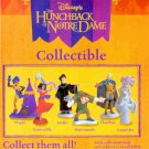 HUNCHBACK of NOTRE DAME FIGURES SET OF 6