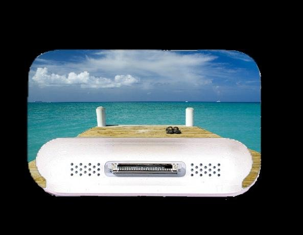 Beach Ipod Dock Skin