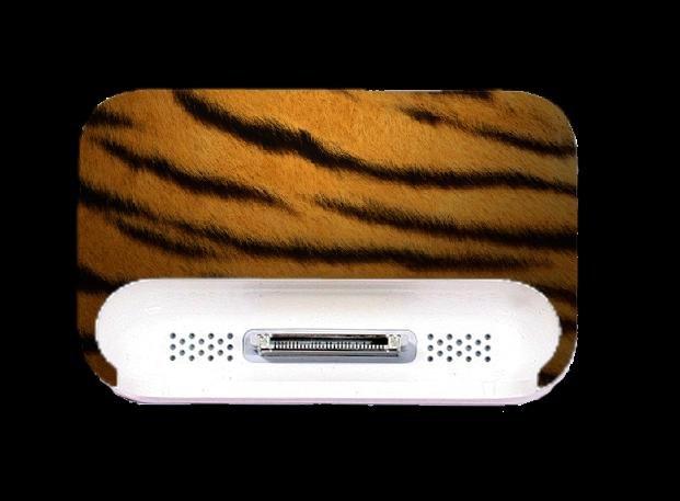 Tiger Print IPOD DOCK Skin