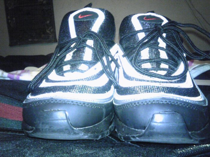 Nike Air Max '97 (black / metallic silver / pimento red)