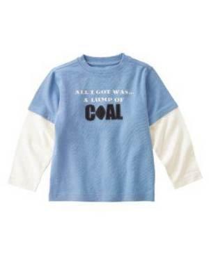 NWT GYMBOREE  HOLIDAY EXPRESS  LUMP OF COAL T SHIRT  10