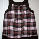 NEW GYMBOREE  SWEETER THAN CHOCOLATE Plaid SWING Top 10