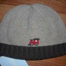NWT GYMBOREE  LITTLE CONDUCTOR Knit Sweater Hat Cap 0 3