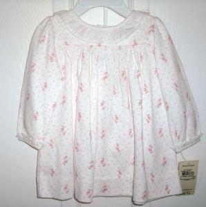 RALPH LAUREN Pink Girls Dress Bloomers LS NWT $40 9 Mos