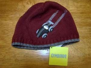 NEW GYMBOREE TURBO CHARGED SWEATER HAT CAP CAR 12 18 24