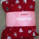 GYMBOREE NWT WINTER SNOWFLAKE Legging Pants Cocoa 4 4T