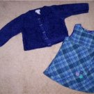 THE CHILDRENS PLACE Dress & Sweater 24 mos. Perfect LN