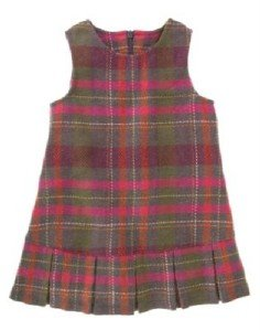 NWT GYMBOREE FALL FOREST Plaid Jumper DRESS 3 3T $32.50