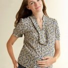 ANN TAYLOR LOFT Maternity Floral Shirt Top Small $45