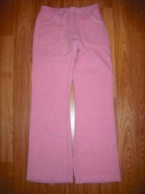 NEW GYMBOREE WINTER SNOWFLAKE PINK FLARE FLEECE PANT 12