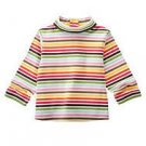 NWT GYMBOREE LOT OF DOT STRIPE TURTLENECK SHIRT Top 3 6