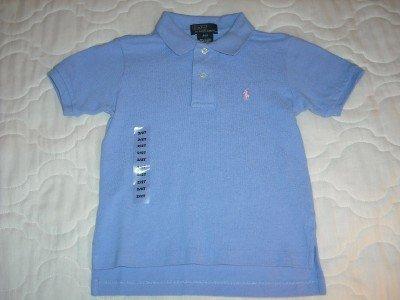 RALPH LAUREN Polo Pony Girls Toddler Shirt SS 2 2T NEW