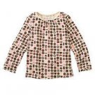 NWT GYMBOREE SWEETER THAN CHOCOLATE BONBON Shirt TOP 10