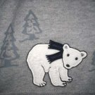 NWT GYMBOREE SNOWBOARDER POLAR BEAR LS Shirt Top 3 6 Mo