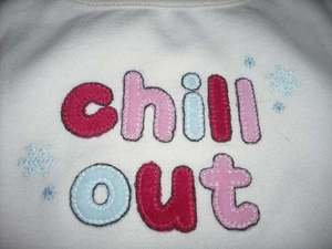 NWT GYMBOREE WINTER SNOWFLAKE CHILL OUT SHIRT TOP 18 24