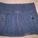 "TOMMY HILFIGER Womens Denim Jean MINI Skirt 30"" Waist"