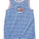 NWT GYMBOREE BY THE SEASHORE Boys Romper Preemie 2 7 lb