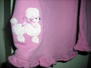 GYMBOREE NWT POODLE PRETTY Girl Pink PANT 18 24 So CUTE