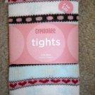 GYMBOREE NWT Girls Tights WINTER SNOWFLAKE 0 3 6 NEW
