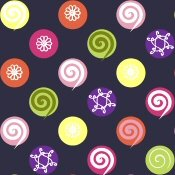 GYMBOREE NWT CANDY SHOPPE Navy MICRO FLEECE PANTS 18 24