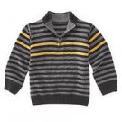 NWT GYMBOREE  TURBO CHARGED BOYS ZIP SWEATER STRIPES 4
