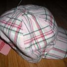 NWT GYMBOREE CLASSROOM KITTY Plaid Pageboy Hat 3 3T 4