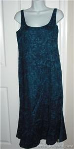 RALPH LAUREN Long Linen Dress blue floral NWT $199 Sz 2