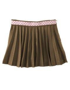 GYMBOREESweeter Than Chocolate OUTFIT Skort Shirt 10