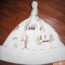 NWT GYMBOREE AUTUMN FOREST Beanie Hat Cap Hedgehog 0 3