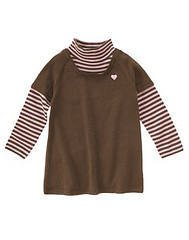 NWT GYMBOREE SWEETER THN CHOCOLATE Brown Pink Sweater 9