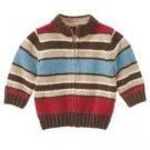NWT GYMBOREETrain EXPRESS  Zip Cardigan Sweater 6 9 12