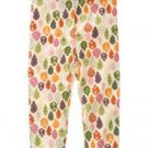 NWT GYMBOREE  FALL FOREST GIRLS COTTON KNIT LEGGING 3 6