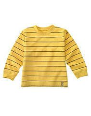 NWT GYMBOREE CANINE ACADEMY STRIPED YELLOW SHIRT TOP  5