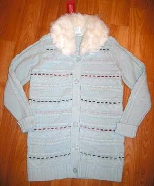 NWT GYMBOREE WINTER SNOWFLAKE NEW SWEATER JACKET COAT 7