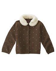 NWT GYMBOREE SWEETER THAN CHOCOLATE Cardigan Sweater 6