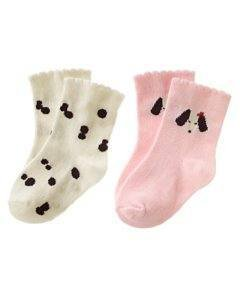 GYMBOREE HOLIDAY PICTURES  DALMATIAN Dog 2 Pr Socks 3 6