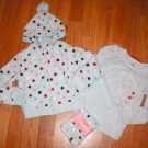 NWT GYMBOREE  WINTER SNOWFLAKE  SET JACKET PANT SHIRT 5