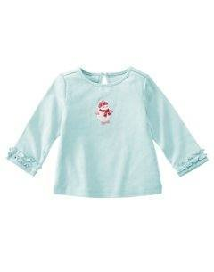 NWT GYMBOREEWinter Snowflake SNOWMAN Shirt Top 3 6 NEW