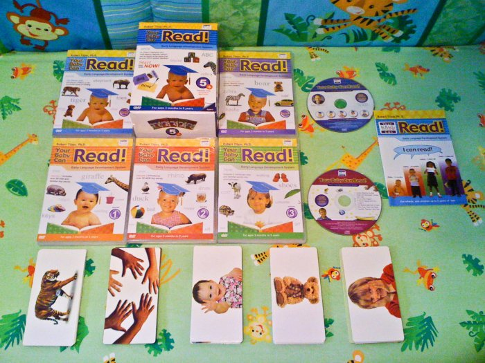 *SOLD OUT* (available in few days) Your Baby Can Read Set