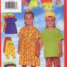 Butterick 4832 Toddler's/Children's Dress, Top, Short, Pants & Headband Uncut