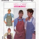 Simplicity 9245 Yes I Can Sew-Everybody Apron Uncut