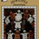 Snow & Spice Decorations pattern - uncut