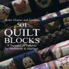 501 Quilt Blocks - Better Homes & Gardens - New